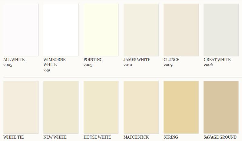 Kleurkaarten - Kleurkaart kleur interieur verf ...